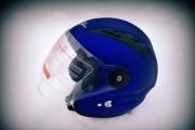 Шлем открытый BLD №-218 Bailide blue / matt