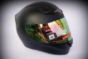Шлем-интеграл BLD №-666 black / хамелеон