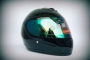 Шлем-интеграл BLD №-878 черный глянец