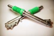 Перья вилки Yamaha Jog / Aprio XH-MOTO green