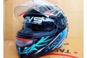 Шлем JYX черно-синий