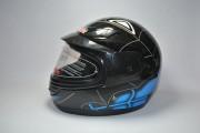 Шлем детский BLD №-109 черный/spiderman