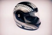 Шлем-интеграл SLVK черно-серый