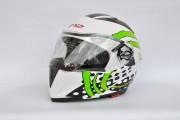 Шлем-трансформер F2/BLD №-158 белый