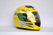 Шлем-интеграл BLD №-878 желтый
