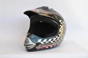 Шлем кроссовый BLD №-819 flat black