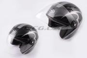 Шлем-полулицевой VR-1 flat black