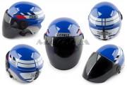 Шлем-полулицевой TANKE mod-210 синий