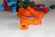 Насвечник тюнинг силиконовый оранжевый MPM
