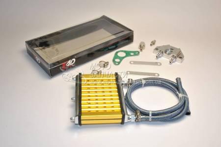 Масляный радиатор Актив GS-110 маслокулер RIDE IT золото