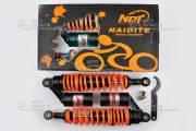 Амортизаторы Альфа h-330 мм газо-масляные черно-оранжевые NDT