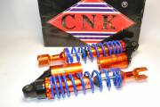 Амортизаторы Viper Storm/GY-150 340 мм газомаслянные CNK синие