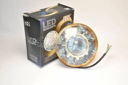 Оптика LED круглая Альфа + линза TMMP