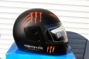 Шлем-интеграл BLD №-825 Monster Energy черный мат