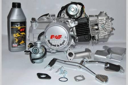 Двигатель ALPHA 110 + масло d-52.4 мм механика FDF
