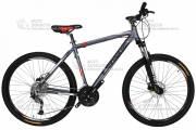 Велосипед Cronus Fantom 27.5 серо-красный