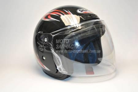 Шлем-полулицевой SHUNDRA черный