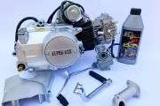 Двигатель 49/110 см3 Альфа/Актив Аlpha-Lux