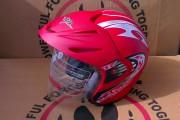 Шлем-полулицевой BLD №-203 красный