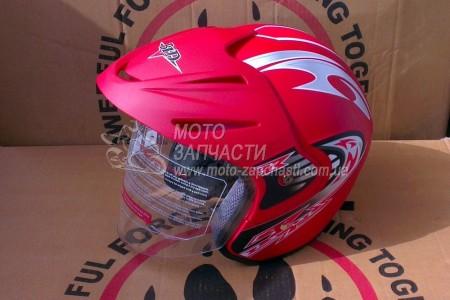 Шлем BLD №203 открытый красный