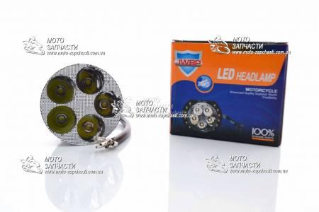 Лампа света LED 6 диодов круглая JWBP (Taiwan)