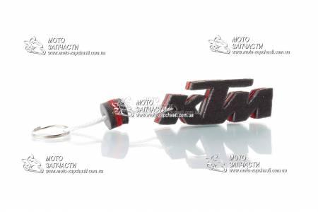 Брелок KTM SALO каучук красный