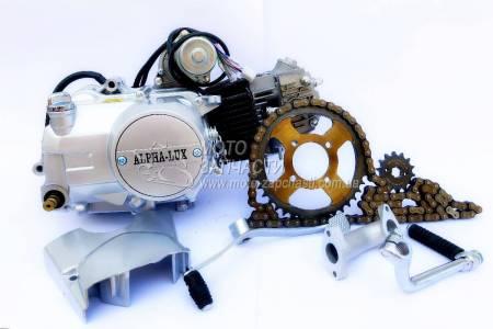 Двигатель Альфа JH-110 механика AlphaLux+набор звезд+цепь