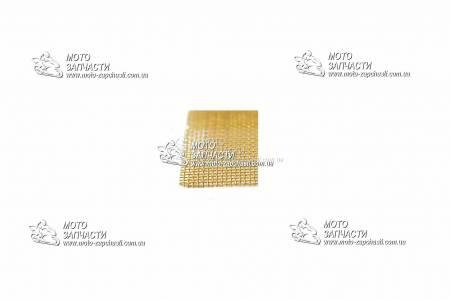 Сетка латунная восстановления пластика 100x100 мм