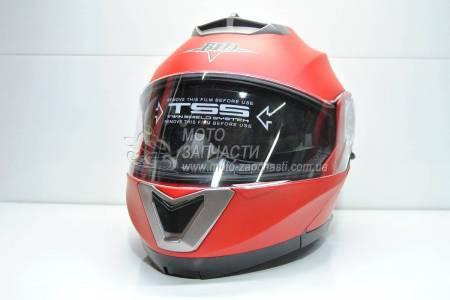 Шлем-трансформер BLD №-160 красный мат