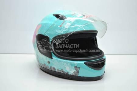 Шлем-интеграл детский BLD/F2 №-801 голубой