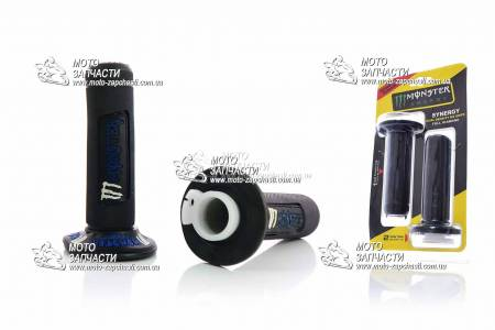 Ручки руля MONSTER ENERGY черно-синие