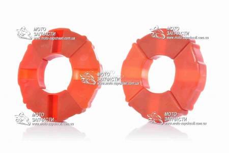 Демпферные резинки Delta силикон VLAND оранжевые