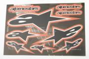 Наклейка спонсоры ALPINESTARS 2
