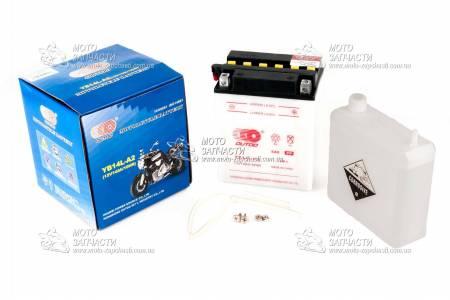Аккумулятор мото 10А/12V 12N10-3А OUTDO кислотный