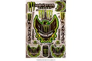 Наклейка Monster Army A4