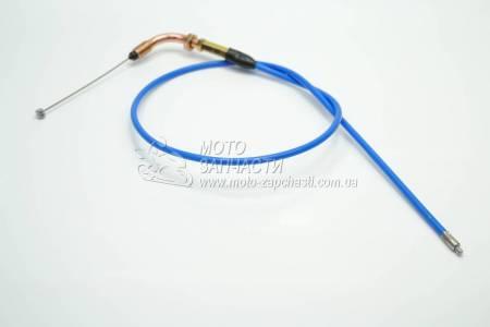 Трос газа Delta JH-70 L-1050 мм силикон XH-MOTO синий