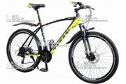 """Велосипед горный 26"""" TITAN PORSCHE рама 19"""" желто-серый"""