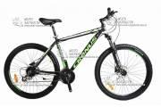 """Велосипед горный CRONUS FUTURE 29"""" алюминий черно-зеленый"""