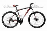 """Велосипед горный CROSS SHARK 29"""" рама стальная черно-красный"""
