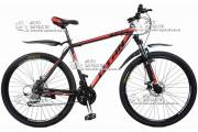 """Велосипед горный TITAN EXPERT 29"""" алюминий черно-красный"""