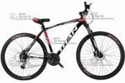 """Велосипед горный TITAN EGOIST 29"""" алюминий черно-красный"""