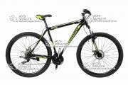 """Велосипед горный CROSS SHARK 29"""" рама стальная салатово-черный"""