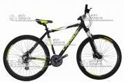 """Велосипед горный CRONUS WARRIOR-2020 29"""" алюминий черно-желтый"""