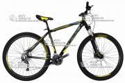 """Велосипед горный CRONUS ProFast 29"""" алюминий черно-желтый"""