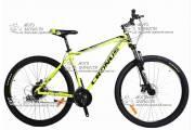 Велосипед горный CRONUS HOLTS 3.0 алюминий желтый
