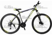 """Велосипед горный TITAN GALAXY 29"""" алюминий черно-желтый"""