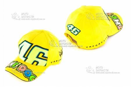 Кепка VR46 THE DOG желтая