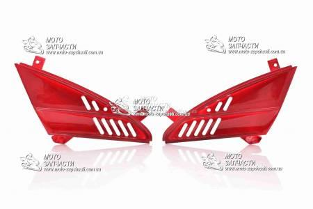 Жабры (пластик) Viper STORM красные