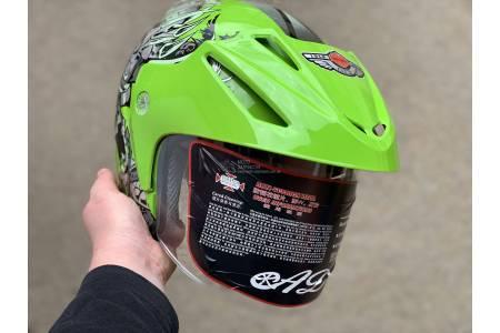 Шлем-полулицевой BLD №-203 GREEN