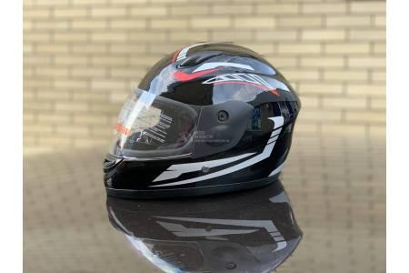 Шлем-интеграл детский BLD/F2 №-801 черно-белый